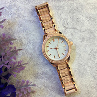 Wholesale Japan Gold Bracelet - New Model Luxury Women watches Rose Gold Steel Bracelet chain Lady Quartz Female Clock Free shipping Dress watch High Quality Japan Movement