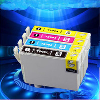 Wholesale New Printers Wholesalers - New Compatible Ink Cartridge T2001 T2002 T2003 T2004 for Epson XP-200 300 400 WF-2530 2520 2540 Printer