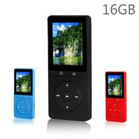 Watch original quality play - Latest GB MP3 Player High Quality Original RUIZU X20 with Inch Screen Can Play hours With FM E Book Clock Data