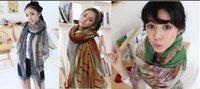 Wholesale Price Chiffon Silk Scarfs - Factory price Fashion women colored chiffon printed designer scarf autumn long silk scarves 30 Color Free shipping