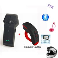 Wholesale Motorcycle Radio Control - COLO-RC Newest Remote Control Bluetooth Headset Intercom BT Motorcycle Interphone + FM Radio NFC Function