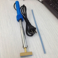 Wholesale Soldering Head - 2016 Top Soldering Iron Welding Gun Tool for pixel tool with Solder T-head Rubber strip for LCD Pixel Repair Ribbon Cable