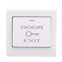 erişim kontrol düğmesi toptan satış-Toptan-Yeni Duvar Dağı Kapı Çıkış Push Button Açma Düğmesi Giriş Erişim Kontrol Sistemi için Dayanıklı Çıkış Anahtarı
