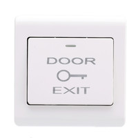 Wholesale Door Entry Button - Wholesale- New Wall Mount Door Exit Push Button Release Button Durable Exit Switch for Entry Access Control System