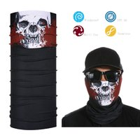 Al por mayor- Anti UV Face Shield Skull Bandana