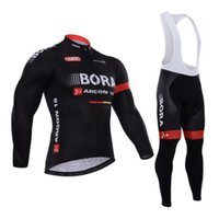 Wholesale Warm Gel - Pro Team Cycling Jersey Winter Fleece Long sleeve Bike Clothing 3D Blue Gel Pad Invierno Ropa Ciclismo Keep Warm Bicycle Jersey