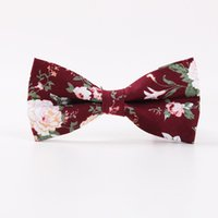 Wholesale Narrow Men S Ties - The new printing men 's business casual tie narrow section of the cotton tie British wedding spot wholesale S380