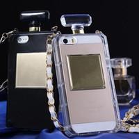 şişe iphone artı kutuları toptan satış-Parfüm Şişesi telefon kılıfı için iphone X XR XS Max iphone 8 7 6 6 s artı S8 S7edge yumuşak TPU kılıfı kılıfları Koruyucu kapak kılıf GSZ189