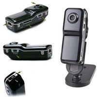 Wholesale Hidden Video Clips - Bracket+Clip Black Sports Video Camera Mini DVR spy Camera & Mini DV Sports Video hidden Camcorders PQ118