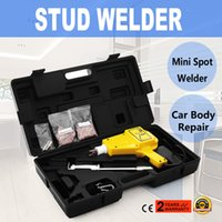 Wholesale Dent Hammer - Stud Welder Dent Puller Kit For Car Repair Autobody Slide Hammer Squiggly Wire