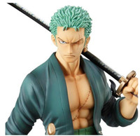 Wholesale One Piece Figure Model - One Piece Action Figures Anime Zoro Roronoa Zoro PVC Action Figure Collectable Model toy free shipping high quality