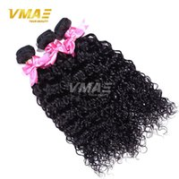 Wholesale Wholesale Brazilian Virgin Hair French - Peruvian Curly Hair Weave Unprocessed Rosa Hair Products Peruvian Virgin Water Wave 3Pcs lot Soft French Curly Weave Human Hair Extensions