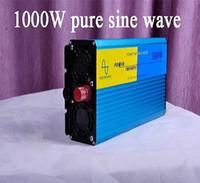 Wholesale Home Power Inverter - 1000w 2000w DC 12V home inverter pure sine wave 24V 48V for solar wind vehicle to power supply