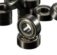 rodamientos rígidos de bolas al por mayor-XNEMON 50 unids MR105 MR105ZZ Metal Sellado Miniatura Mini Rodamiento de Bola 5 x 10 x 4mm Rodamientos rígidos de bolas
