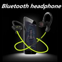 Wholesale New Sports Earphones - New 56S Sports Wireless Bluetooth 4.1 Stereo Headphone Headset Earphone Handsfree in-ear with Microphone for iphone Samsung HTC Universal