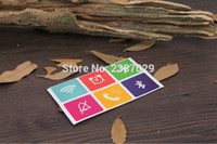 Wholesale Nfc 1k - Wholesale- ISO14443A Printable 13.56mhz Rfid NFC Tag 1K Adhesive Labels Ntag203 Smart Chip Sticker