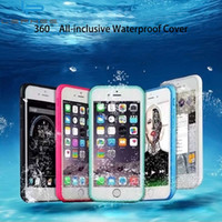 Wholesale Touch Armor - Waterproof Phone Case for iphone 7 7 Plus Cover Water Proof Case for iPhone 6S 5 5S 6Plus Shockproof Touch Cover Armor Swim Case