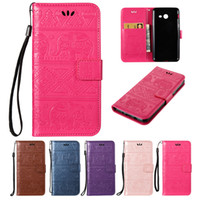 Wholesale samsung kitty cover for sale – best For Samsung Galaxy J520 J5 Wallet Case PU Leather Cover Holder Flip Buckle Card Embossingt Kitty National Calf Elephant