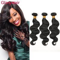 Brazilian Hair Weave Body Wave UNPROCESSED Remy Hair Wefts Cheap Wholesale Virgin Brazilian Indian Malaysian Peruvian Human Hair Extensions
