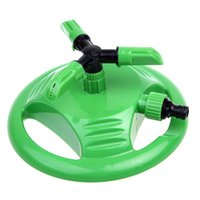 Sprayers & Nozzles sprinkler tools - Garden Plastic Sprinkler Automatic Degree Rotating Sprinkler Plant Flower Lawn Watering Irrigation Tools