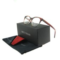 Wholesale Block Design - High Quality Fashion Super Cute Design Oval Color Blocking Flexible Spring Hinge Full Rim Women Eyeglasses Frames