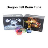 Wholesale Dragon E Cig - Dragon Ball Replacement Resin Tube Crystal Ball RDTA Tank 4ml Atomizer Tubes High quality E Cig DHL Free