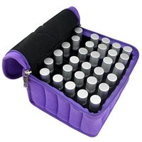 Wholesale Breast Wrap - Oil Storage Bag Shock Proof Wrestling Cosmetic Bags Capped Soft Surface Square Wrap Solid Zippered Durable Cost Effective Package 45dp J R