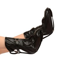 Wholesale Unisex Shoes For Adults - Leather Shoes Locking Feet Cuffs Bondage Restraint Gear Gloves Ankle Cuffs Fixed Adult Sex Product BDSM Sex Toys For Couple