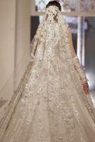 Wholesale net veils resale online - Best Selling Chapel Length Bridal Veils with Appliques In Stock Long Wedding Veils Vestido De Noiva Longo Wedding Veil Lace