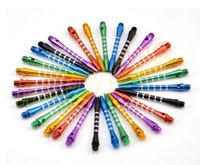 çeşitli aksesuarlar toptan satış-Alüminyum dart mil dart aksesuarları anti-break dayanıklı kıdemli dart kutup çeşitli renkler