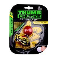 Wholesale Luminous Stickers - Mixed 4 Colors Hot Thumb Chucks Yoyo Luminous BEGLERI Glow in Dark Extreme Movement Plastic Juggling Ball Anti Stress Spinner Retail Package