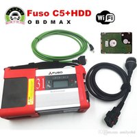 Wholesale Diagnostic Kit For Ford - Mitsubishi Fuso C5 Diagnostic Kit Support WIFI Mitsubishi Fuso SD Connect Compact 5 with 2015.12 software in HDD DHL free