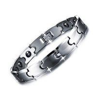 armband wolfram großhandel-2017 Hot Fashion Tungsten Armband Männer, Cool Mens Jungen Gesundheitswesen Magnet Armreifen und Armbänder für Frauen Armband Männer Geschenk