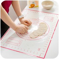 Wholesale Pizza Set - 2 PCS set Large+Small Silicone Baking Mat Pizza Dough Maker Pastry Kitchen Gadgets Cooking Tool Utensils Bakeware Supplies