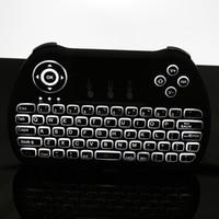 schnellste android-tv-box großhandel-H9 Backlit Tastatur Fly Air Mouse Tastatur Remote 2,4 GHz drahtlose Fernbedienung für S905X S912 Android TV Box V88 MXQ schnelles Verschiffen