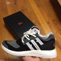 Wholesale Top Quality Leather Boots - Top Quality Y-3 Boost Men Running Shoes Mens Y3 Run Boots primeknit boost zg y3 Men Sports Shoes Ultra Boost Free Shipping