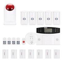 Wholesale System Gsm 433 - Intelligent GSM Alarm System Kit Wireless 433 smart voice household burglar alarm (anti-pet type) Home Store Warehouse Company
