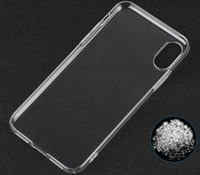 Pour iphone8 Transparency Clear Crystal Housse de protection rigide pour iphone 8 DIY Crystal Clear Case