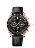 Wholesale Planet Ocean Gold - 2017 new Luxury brand dive chronograph 007 blue Mens Watch Professional Planet Ocean Co-Axial Dive Wristwatch Mechanical Men Watches
