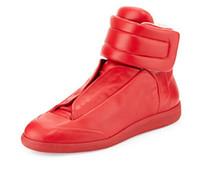 Wholesale Men Steel Toe - 2017 new Maison Martin Margiela MMM Future Kanye West Sneakers High Top Luxuries Genuine Leather Men's Fashion Casual Shoe - Steel Blue Bro