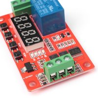 Wholesale Timer Relay Lock - Wholesale-12V Multifunctional Relay Module PLC Delay Timer Switch Self-Lock Home Automation
