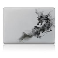 macbook hava vinili çıkartması toptan satış-2017 Yeni sıcak Özgünlük Çince-style-21 serisi Vinil Çıkartması Renk Sticker Cilt Apple MacBook Pro Hava 11
