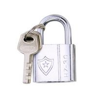 Wholesale Home Hardware Door Locks - New Arrival Home Stainless Steel Hardware Door Locks Blade Padlock 30#