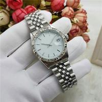 Wholesale Mechanical Wristwatch Women - Unisex Mens Women Watches Luxury brand Stainless Steel band Rhinestone Mechanical Automatic Wristwatches For Men Ladies best Gift watch