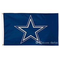 Wholesale Football Flags Dallas Denver Detroit Team Flags All Football Team Banner Flags Champion Football Team Flag Indoor Outdoor Souvenir Banner
