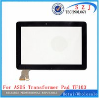 Wholesale Transformer Pad Replacement Screens - Wholesale-New 10.1'' inch for ASUS Transformer Pad TF103 TF103CG Touch Screen Panel Digitizer Glass Replacement Free shipping