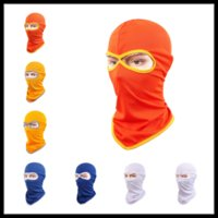 24 Styles Winter Warm Trapper Hats Vapeur thermique Casquettes Balaclava Tactical Full Face Mask for Cycling