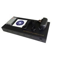 matriz remota venda por atacado-Freeshipping HDMI 4x4 Matrix Interruptor Divisor 4 em 4out 1080p 3D com Controle Remoto RS232 controle 3D HD1080p