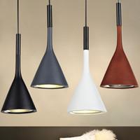 çimento askılı ışık toptan satış-Yeni Retro endüstriyel İmitasyon çimento yaratıcı Reçine Droplight Bar Kolye Işık endüstriyel kolye ışık tavan ışık avize # 32