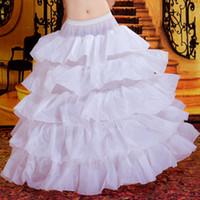 vestido multi quinceañera al por mayor-Multi capas puffy quinceañera vestido falda falda falda vestido de novia crinolinas vestido de fiesta nupcial enaguas falda